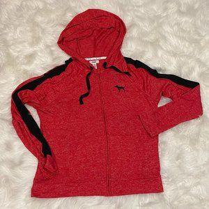 Pink VS zip-up hoodie M  NWOT